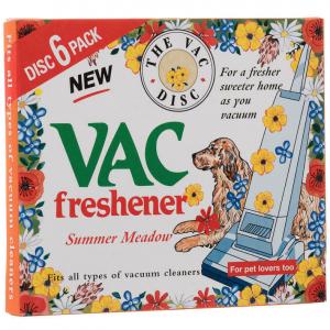 Vac freshener kvapnūs dulkių siurblio diskeliai, 6 vnt